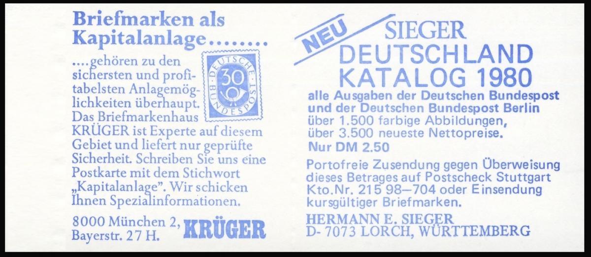 12b MH BuS [rote 60er], gestempelt VS-O Berlin 12 1