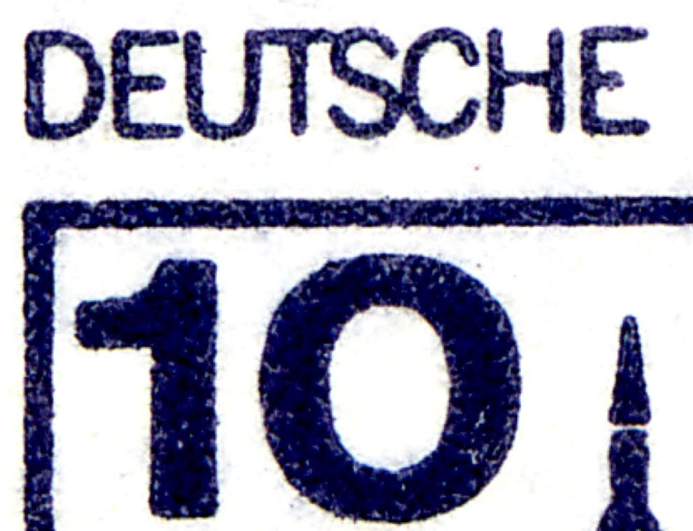 HBl. 21 aus MH 13 BuS 1982, mit PLF I (532I/IX), Feld 5, ** 0