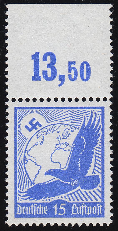 531y Flugpostmarke 1934 15 Pf ** 0