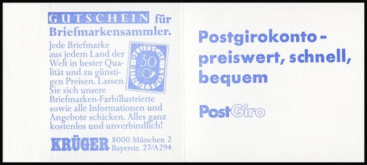 11m MH BuS 1980 - mit PLF V - postfrisch ** 2