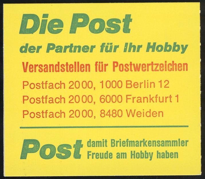 11m MH BuS 1980 - mit PLF V - postfrisch ** 3