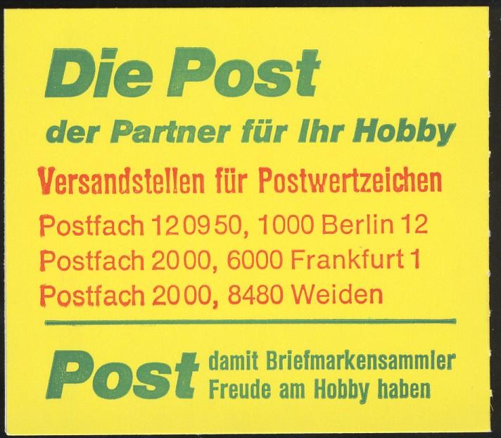 11g MH BuS 1980 - mit PLF V+IV ** postfrisch 4