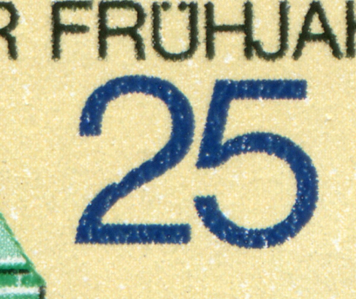 2209 Messe Leipzig 20 Pf mit PLF Kerbe in der 2, Feld 12, ** 0