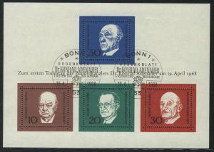 Block 4 Adenauer 1968, ESSt Bonn