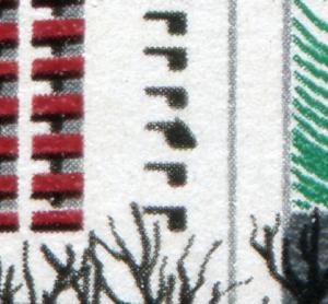 2119 Messe Leipzig 10 Pf mit PLF Ausbuchtung am Fenster, Feld 47 **