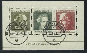 Block 5 Frauenwahlrecht 1969, VS-O Frankfurt 6.1.71