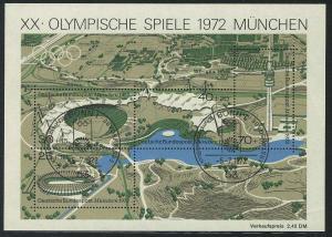 Block 7 Olympiapark 1972 mit ESSt Bonn 5.7.72