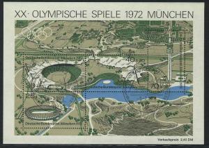 Block 7 Olympiapark 1972, ESSt München 5.7.1972