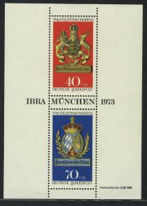 Block 9 IBRA München 1973, postfrisch