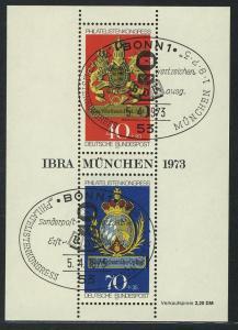 Block 9 IBRA München 1973 mit ESSt Bonn 5.4.1973
