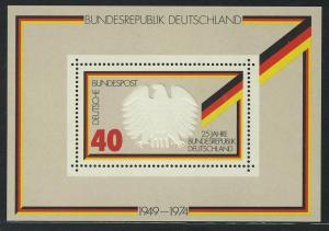 Block 10 - 25 Jahre Bundesrepublik, ** postfrisch