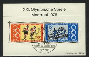 Block 12 Olympiade Montreal 1976, ESSt Bonn 6.4.1976
