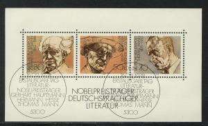 Block 16 Nobelpreisträger für Literatur 1978, ESSt Bonn