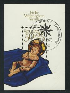 Block 17 Weihnachten - Christkind 1978, ESSt Bonn Weihnachtsstern