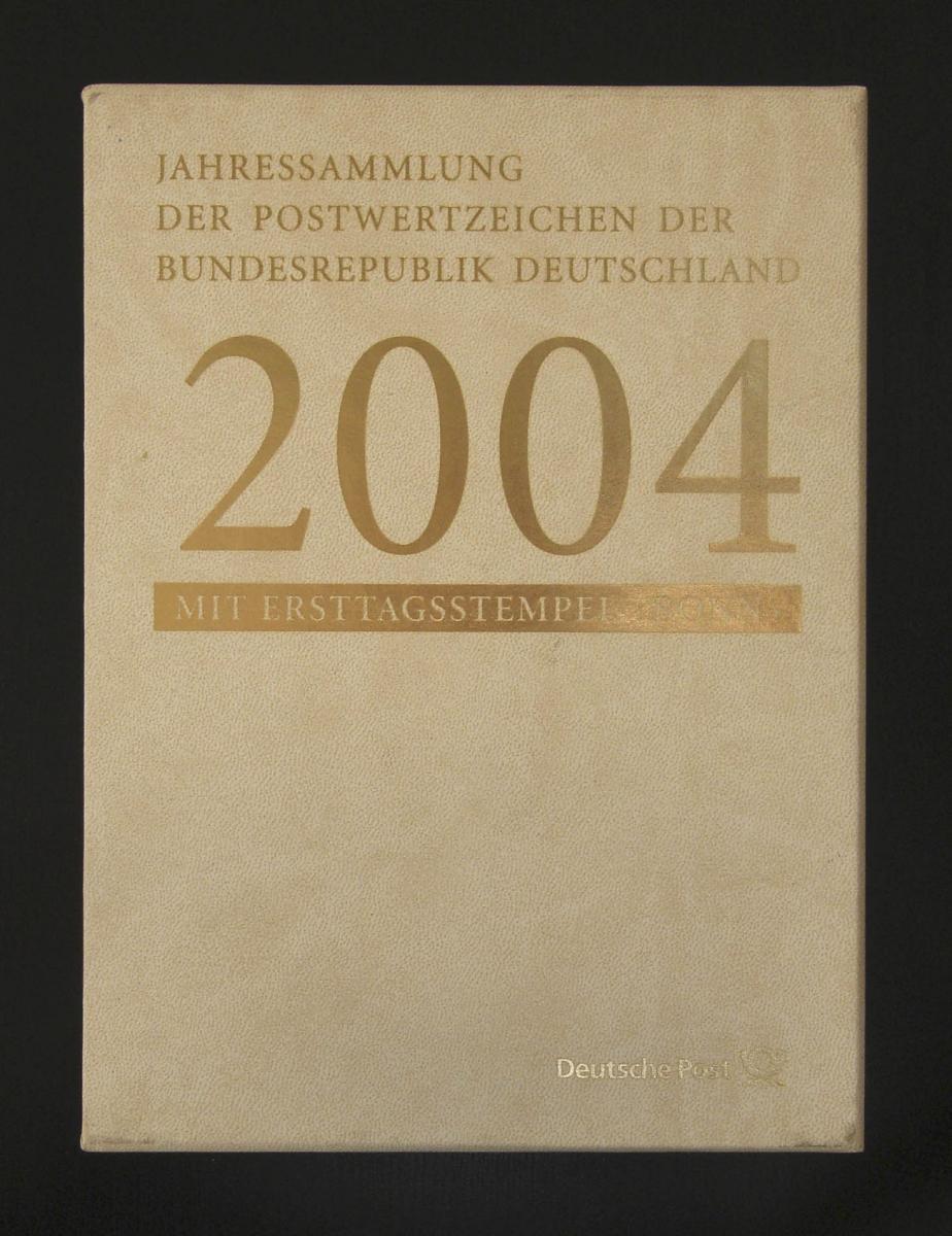 Jahressammlung Bund 2004 mit Ersttagssonderstempel 0