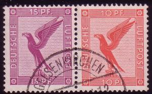 Flugpost ZD W 22 15+10 O