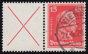 Persönlichkeiten Kant ZD X+15 O gestempelt
