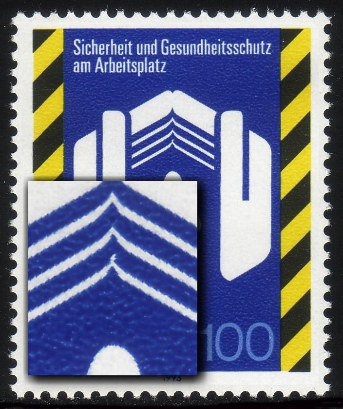 1649 Arbeitsschutz mit PLF verlängerte Eckspitze, Feld 13, ** 0