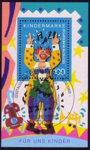Block 27 Für uns Kinder - Musikclown 1993 mit ESSt Berlin 11.9.1993