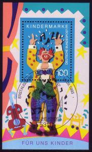 Block 27 Für uns Kinder - Musikclown 1993 mit ESSt Bonn 11.9.1993
