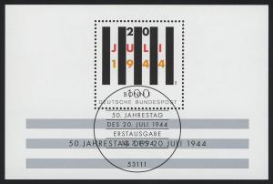 Block 29 Jahrestag Attentat 20. Juli 1944, ESSt Bonn