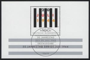Block 29 Jahrestag Attentat 20. Juli 1944, ESSt Berlin