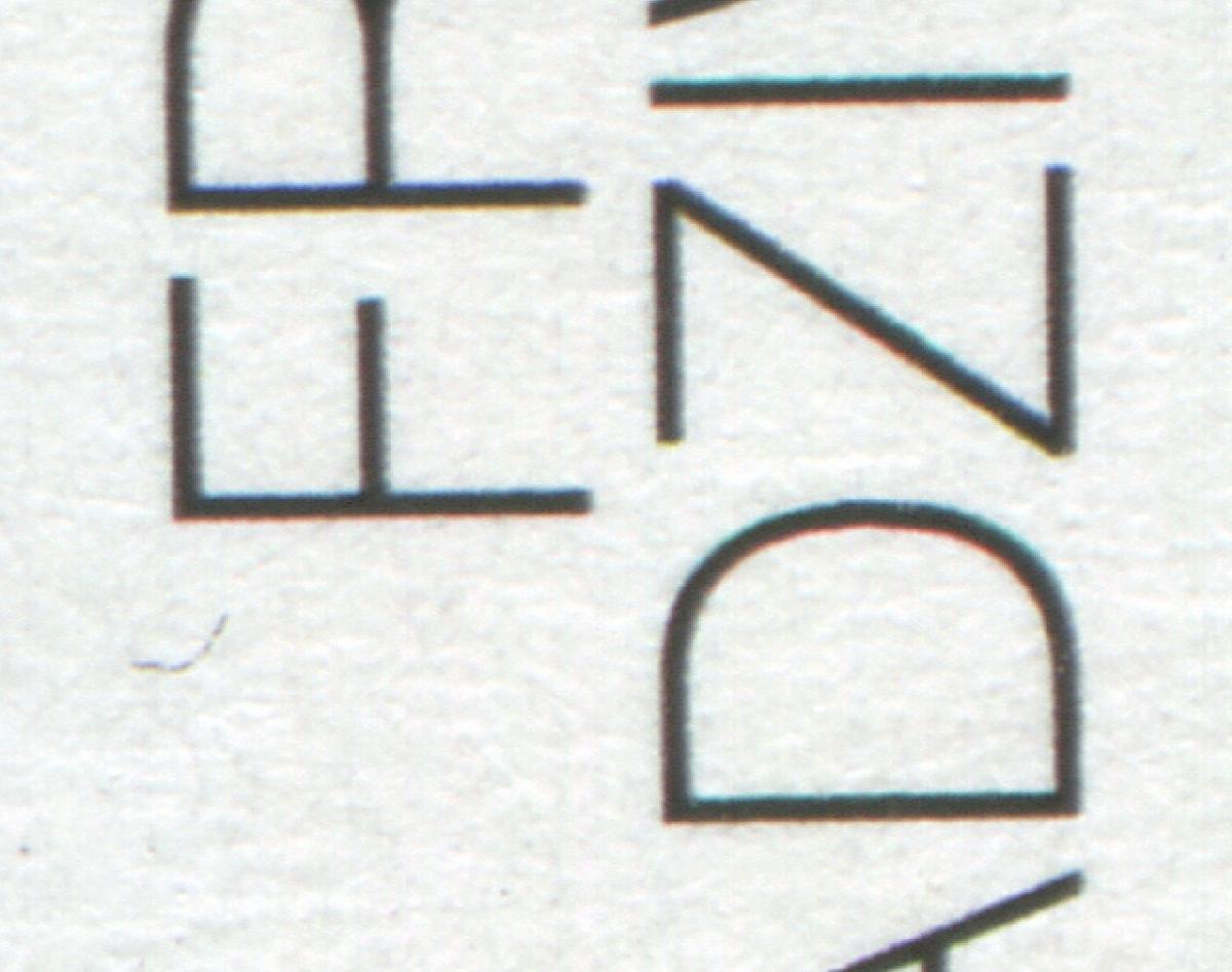 1774 Radziwill, PLF: Bumerang unter dem F von FRANZ, Feld 8 ** 0