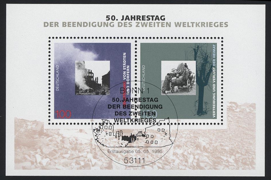 Block 31 Kriegsende 1995, ESSt Bonn 0