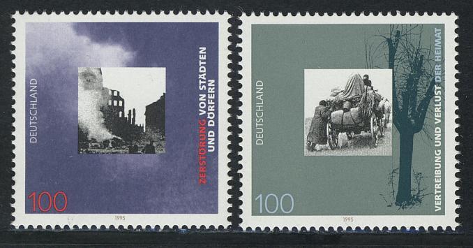 1794-1795 Einzelmarken aus Block 31 Kriegsende, Satz ** 0