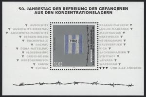 Block 32 Jubiläum 50 Jahre Gefangenenbefreiung, postfrisch