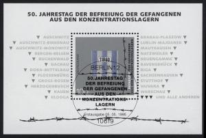 Block 32 Jubiläum 50 Jahre Gefangenenbefreiung, ESSt Berlin 5.5.1995
