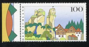 1807 Fränkische Schweiz - Verzähnung Jahreszahl & Passerverschiebung olivgrün **