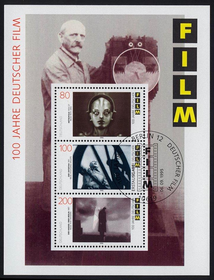 Block 33 Filmblock Deutscher Film 1995, ESSt Berlin 0
