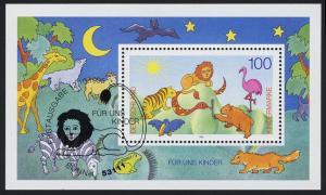 Block 34 Für und Kinder - Tierversammlung 1995 mit ESSt Bonn 12.10.1995