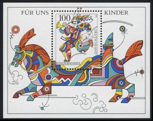 Block 35 Für uns Kinder 1996, postfrisch