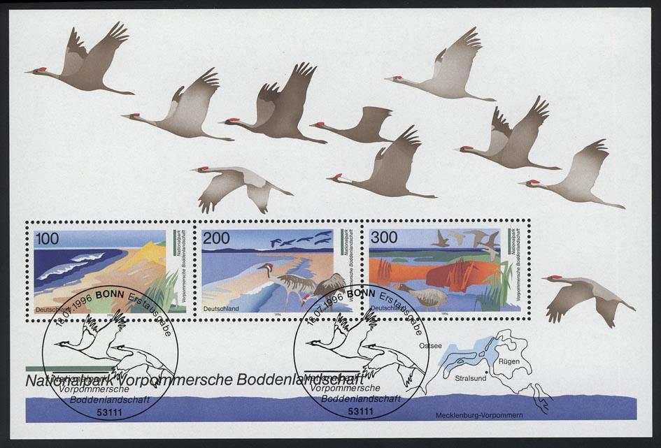 Block 36 Boddenlandschaft 1996, ESSt Bonn 0