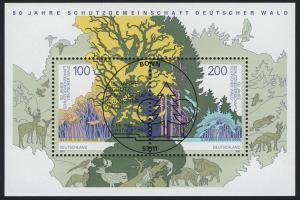 Block 38 Schutzgemeinschaft Deutscher Wald SDW 1997, ESSt Bonn