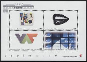 Block 39 dokumenta10 Kassel 1997, postfrisch