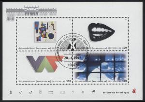 Block 39 dokumenta10 Kassel 1997 mit ESSt Berlin