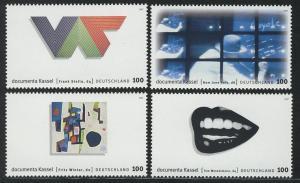 1927-1930 Einzelmarken aus Block 39 dokumenta Kassel, 4 Werte, Satz **