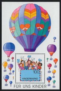 Block 40 Für uns Kinder - Luftpostbrief 1997, postfrisch