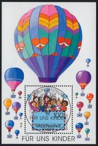 Block 40 Für uns Kinder - Luftpostbrief 1997 mit ESSt Berlin