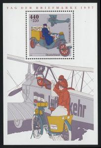 Block 41 Tag der Briefmarke - Posttransport 1997, postfrisch