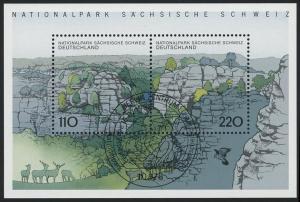 Block 44 Nationalpark Sächsische Schweiz 1998, ESSt Berlin