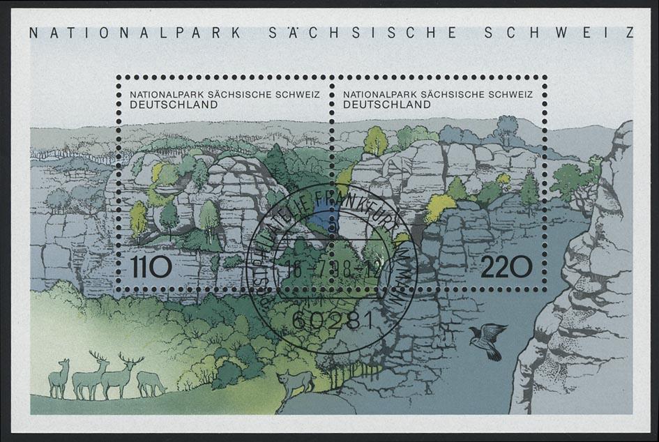 Block 44 Sächsische Schweiz 1998, VS-O Frankfurt/Main 0