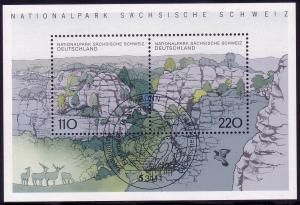Block 44 Nationalpark Sächsische Schweiz 1998, ESSt Bonn