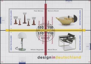 Block 45 Design in Deutschland 1998, ESSt Bonn