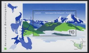 Block 47 EUROPA - Nationalpark Berchtesgaden 1999, postfrisch