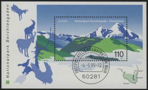 Block 47 EUROPA - Nationalpark Berchtesgaden 1999, VS-O Frankfurt/Main
