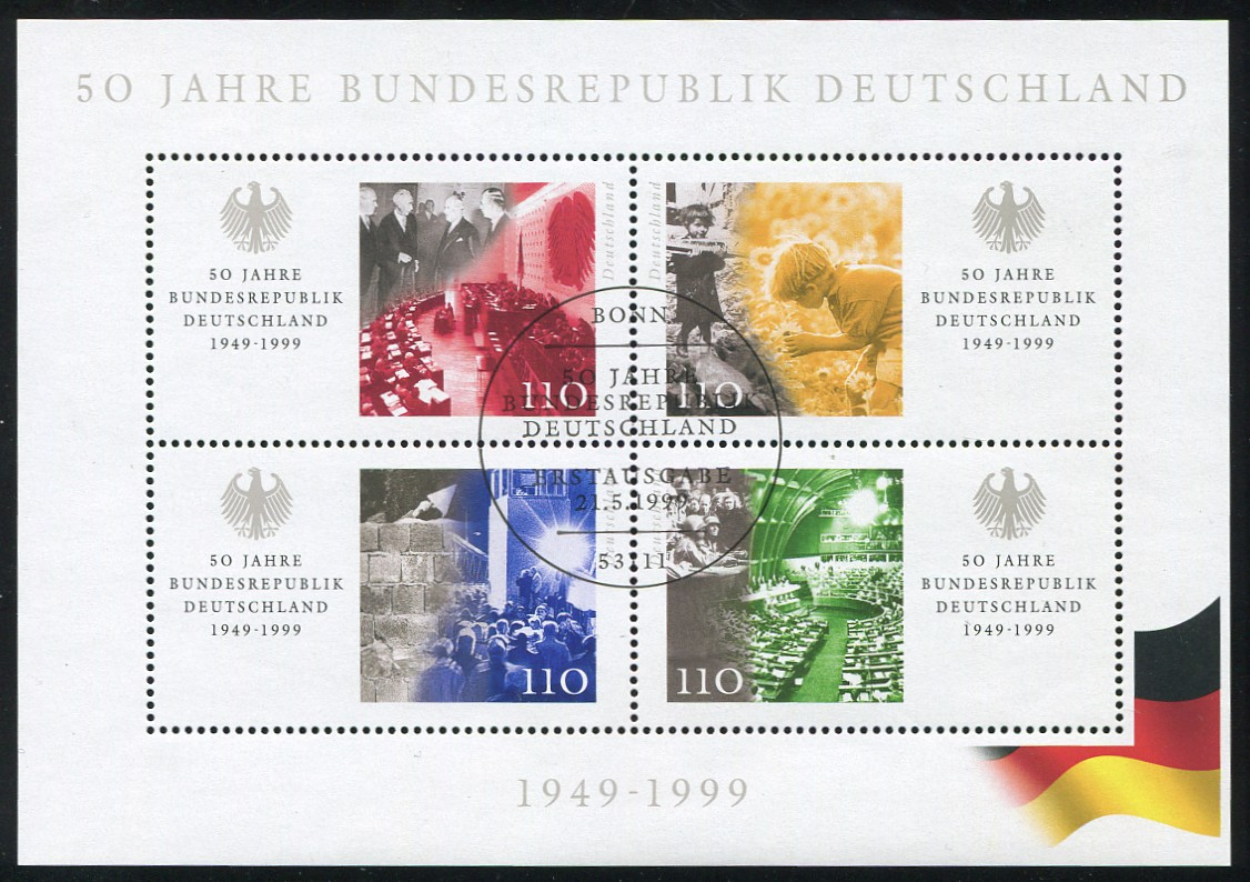 Block 49 50 Jahre Bundesrepublik, ESSt Bonn 0